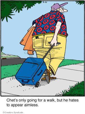 Comic Strip Jerry Van Amerongen  Ballard Street 2017-03-04 luggage