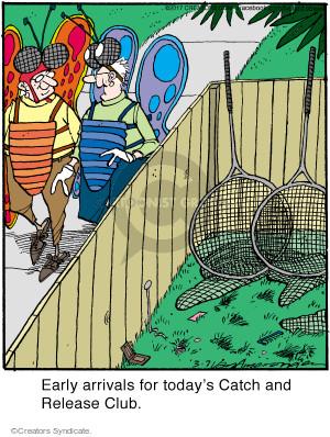 Comic Strip Jerry Van Amerongen  Ballard Street 2017-03-07 catch