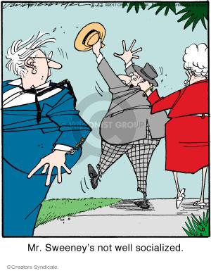 Comic Strip Jerry Van Amerongen  Ballard Street 2017-03-23 not
