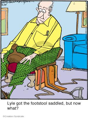 Comic Strip Jerry Van Amerongen  Ballard Street 2017-03-24 but