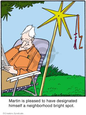 Cartoonist Jerry Van Amerongen  Ballard Street 2017-03-28 neighbor
