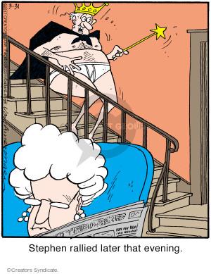 Cartoonist Jerry Van Amerongen  Ballard Street 2017-03-31 illness