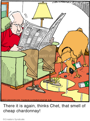 Comic Strip Jerry Van Amerongen  Ballard Street 2017-04-24 again