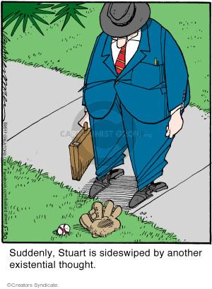Comic Strip Jerry Van Amerongen  Ballard Street 2017-05-30 baseball