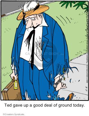 Comic Strip Jerry Van Amerongen  Ballard Street 2017-06-06 give