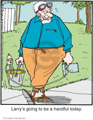 Comic Strip Jerry Van Amerongen  Ballard Street 2017-06-12 Larry