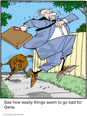 Comic Strip Jerry Van Amerongen  Ballard Street 2017-06-19 run