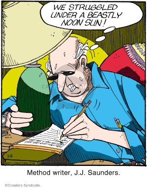 Comic Strip Jerry Van Amerongen  Ballard Street 2017-07-08 author