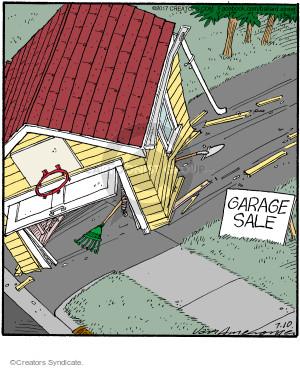 Comic Strip Jerry Van Amerongen  Ballard Street 2017-07-10 disrepair