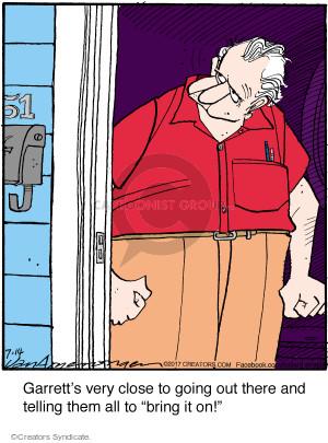 Comic Strip Jerry Van Amerongen  Ballard Street 2017-07-14 strip