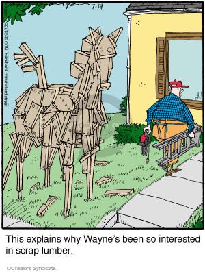 Comic Strip Jerry Van Amerongen  Ballard Street 2017-07-19 strip
