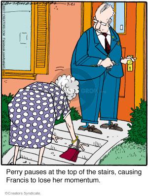 Comic Strip Jerry Van Amerongen  Ballard Street 2017-07-21 pause