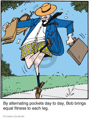 Comic Strip Jerry Van Amerongen  Ballard Street 2017-08-10 garment