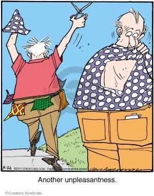 Cartoonist Jerry Van Amerongen  Ballard Street 2017-08-26 clothes