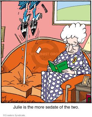 Comic Strip Jerry Van Amerongen  Ballard Street 2017-09-15 two