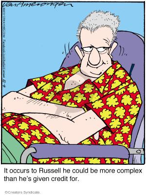 Comic Strip Jerry Van Amerongen  Ballard Street 2017-10-04 personality