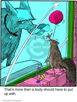 Comic Strip Jerry Van Amerongen  Ballard Street 2017-12-16 balloon