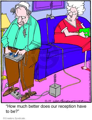 Cartoonist Jerry Van Amerongen  Ballard Street 2017-12-19 technology
