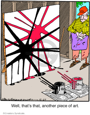 Comic Strip Jerry Van Amerongen  Ballard Street 2017-12-27 work