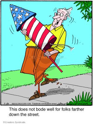 Cartoonist Jerry Van Amerongen  Ballard Street 2018-01-10 neighbor