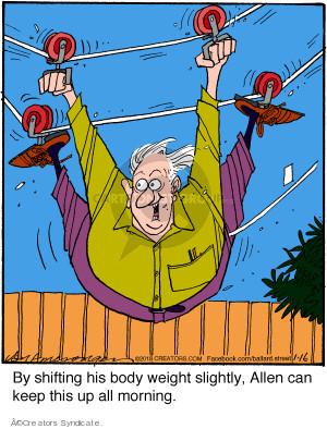 Comic Strip Jerry Van Amerongen  Ballard Street 2018-01-16 can