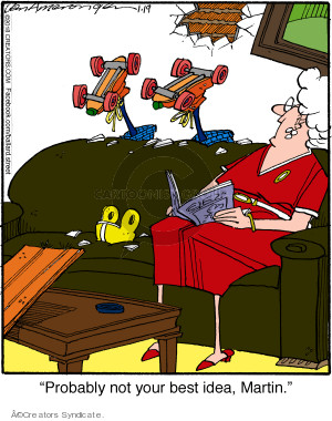 Comic Strip Jerry Van Amerongen  Ballard Street 2018-01-19 idea