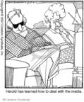 Comic Strip Jerry Van Amerongen  Ballard Street 2007-06-21 television