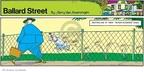 Cartoonist Jerry Van Amerongen  Ballard Street 2007-09-30 fence