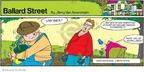 Cartoonist Jerry Van Amerongen  Ballard Street 2007-10-28 gardening
