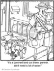 Cartoonist Jerry Van Amerongen  Ballard Street 2008-07-16 partner