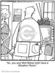 Comic Strip Jerry Van Amerongen  Ballard Street 2008-10-14 television