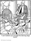 Cartoonist Jerry Van Amerongen  Ballard Street 2008-10-17 pet trick