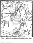 Cartoonist Jerry Van Amerongen  Ballard Street 2008-10-27 gardening