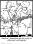 Cartoonist Jerry Van Amerongen  Ballard Street 2009-02-26 partner