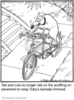 Cartoonist Jerry Van Amerongen  Ballard Street 2009-03-28 bicycle