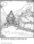 Cartoonist Jerry Van Amerongen  Ballard Street 2009-07-21 gardening