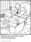 Cartoonist Jerry Van Amerongen  Ballard Street 2009-07-25 game