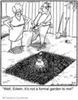 Cartoonist Jerry Van Amerongen  Ballard Street 2009-09-12 gardening
