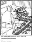 Cartoonist Jerry Van Amerongen  Ballard Street 2009-10-09 gardening