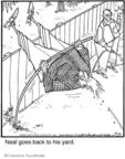 Cartoonist Jerry Van Amerongen  Ballard Street 2009-10-26 fence