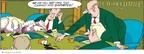 Cartoonist Jerry Van Amerongen  Ballard Street 2009-12-13 board