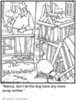 Cartoonist Jerry Van Amerongen  Ballard Street 2010-01-13 board