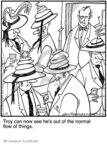 Comic Strip Jerry Van Amerongen  Ballard Street 2010-02-19 party hat