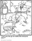 Cartoonist Jerry Van Amerongen  Ballard Street 2010-03-01 gun