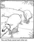 Cartoonist Jerry Van Amerongen  Ballard Street 2010-04-20 dog trick
