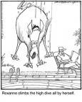 Cartoonist Jerry Van Amerongen  Ballard Street 2010-05-20 board