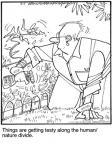 Cartoonist Jerry Van Amerongen  Ballard Street 2010-07-05 gardening