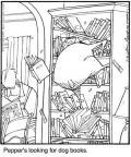 Cartoonist Jerry Van Amerongen  Ballard Street 2010-07-20 book