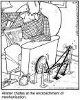 Cartoonist Jerry Van Amerongen  Ballard Street 2010-09-24 machine