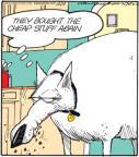 Cartoonist Jerry Van Amerongen  Ballard Street 2010-12-13 pet